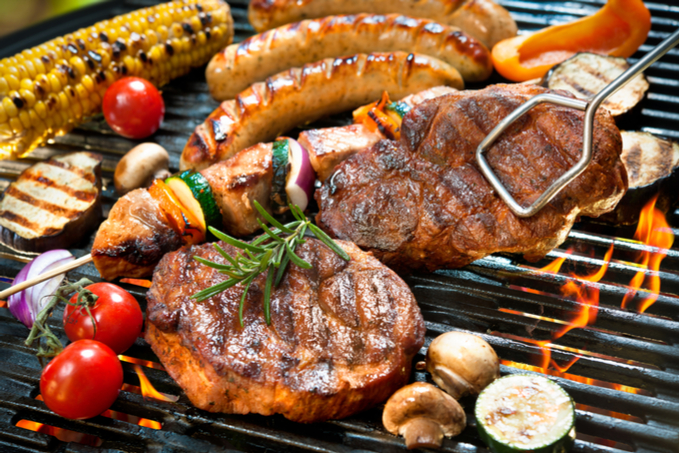 Grilling Times and Temperatures Chart