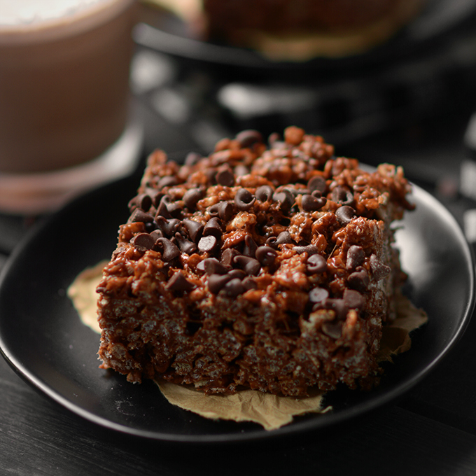The Best Chocolate Rice Krispies Treats
