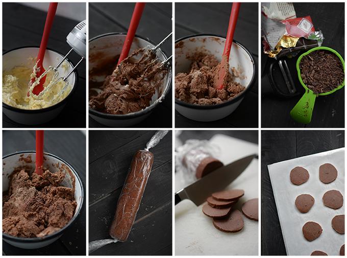 How to Make Belgium Chocolate Shortbread Cookies