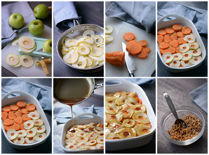 How to Make Scalloped and Candied Sweet Potatoes and Apples