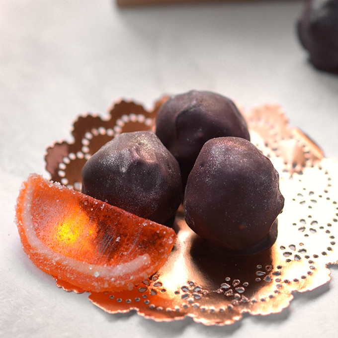 Easy Chocolate Orange Truffles