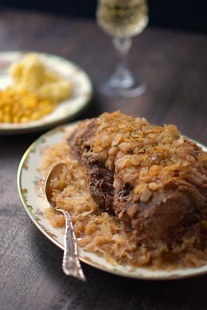 How to Make Sweet and Tangy Slow Cooker Pork and Sauerkraut