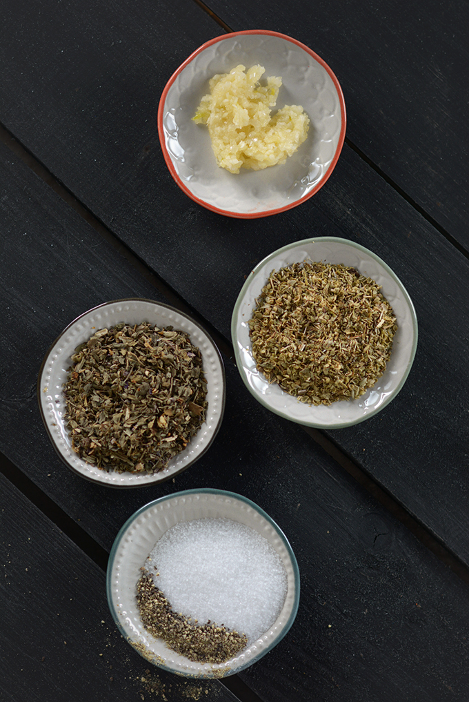 Spices for Black-Eyed Pea and Collard Green Soup