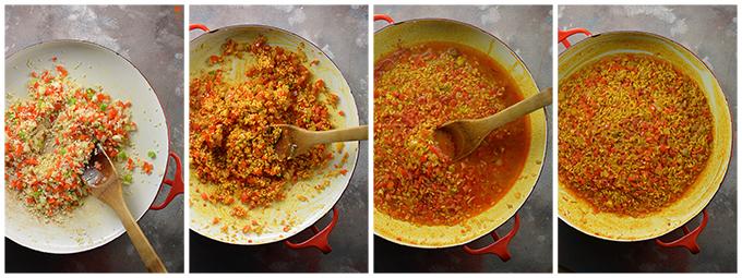 How to Make Shrimp Paella