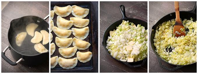 Cooking Pierogies