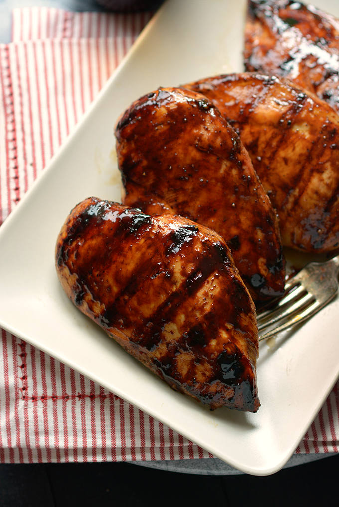Grilled Balsamic Chicken