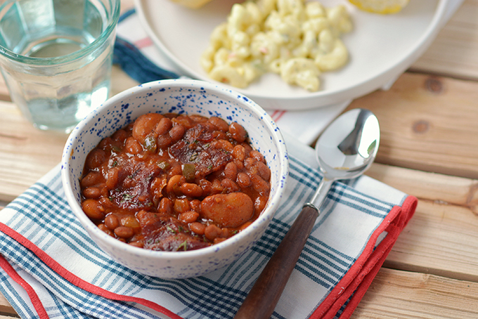 Potluck-Perfect Baked Bean Casserole