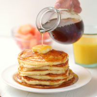 Classic Fluffy Buttermilk Pancakes