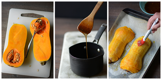 How To Make Spiced Hasselback Butternut Squash