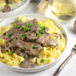 beef-stroganoff-on-egg-noodles
