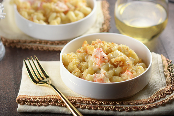 Dish of Langostino Mac 'n Cheese