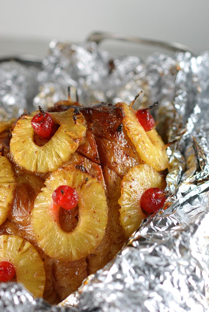 Honey Baked Pineapple Ham