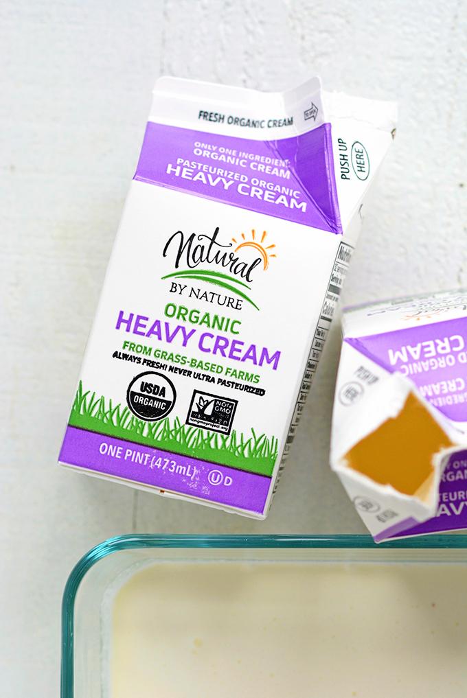 Heavy Cream for Making Clotted Cream