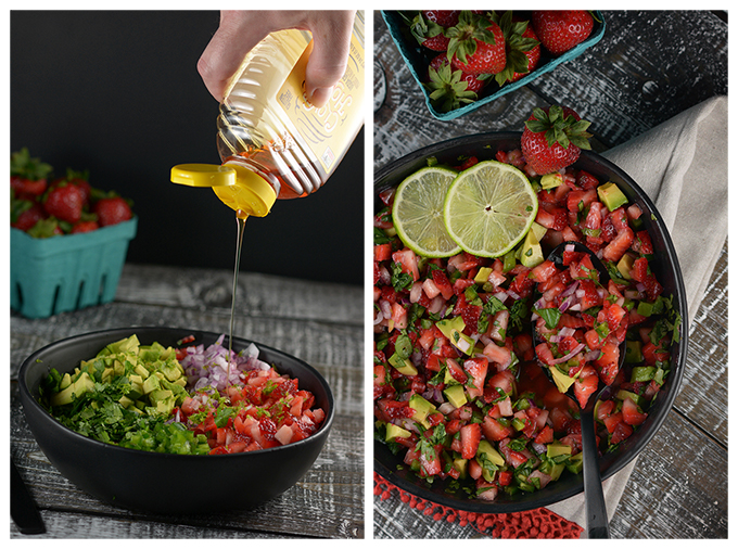 How to Make Strawberry Salsa