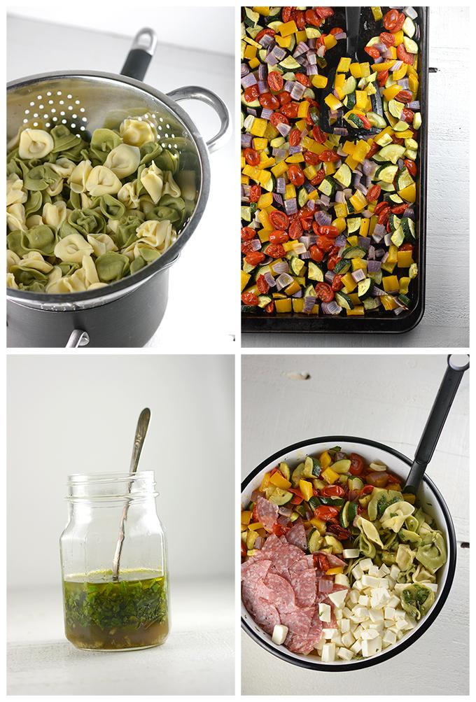 How to Make Tortellini Pasta Salad
