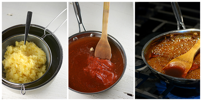 Photo Steps on How to Make Chili Garlic Pineapple Sauce