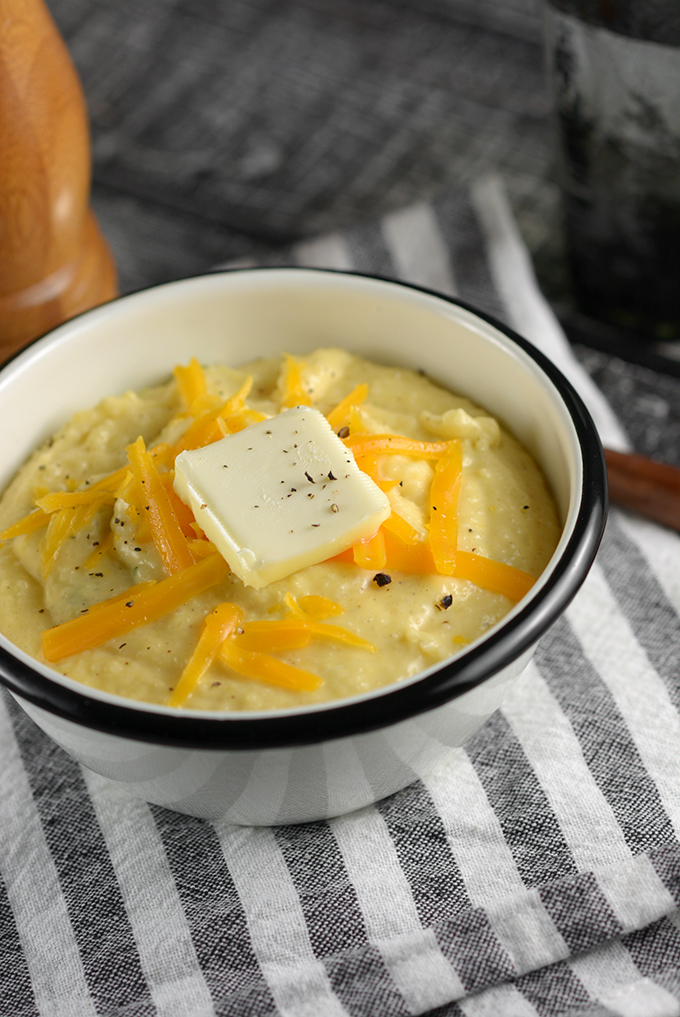 Bowl of Cheddar Grits
