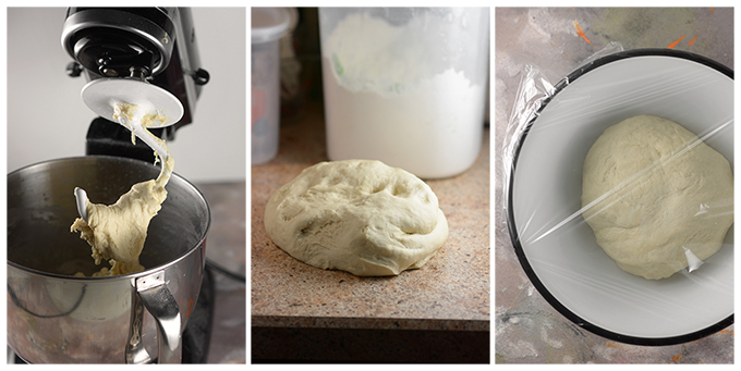 Preparing dough for soft pretzels