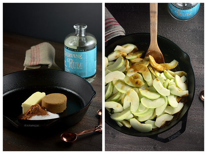 Making Southern Fried Apples