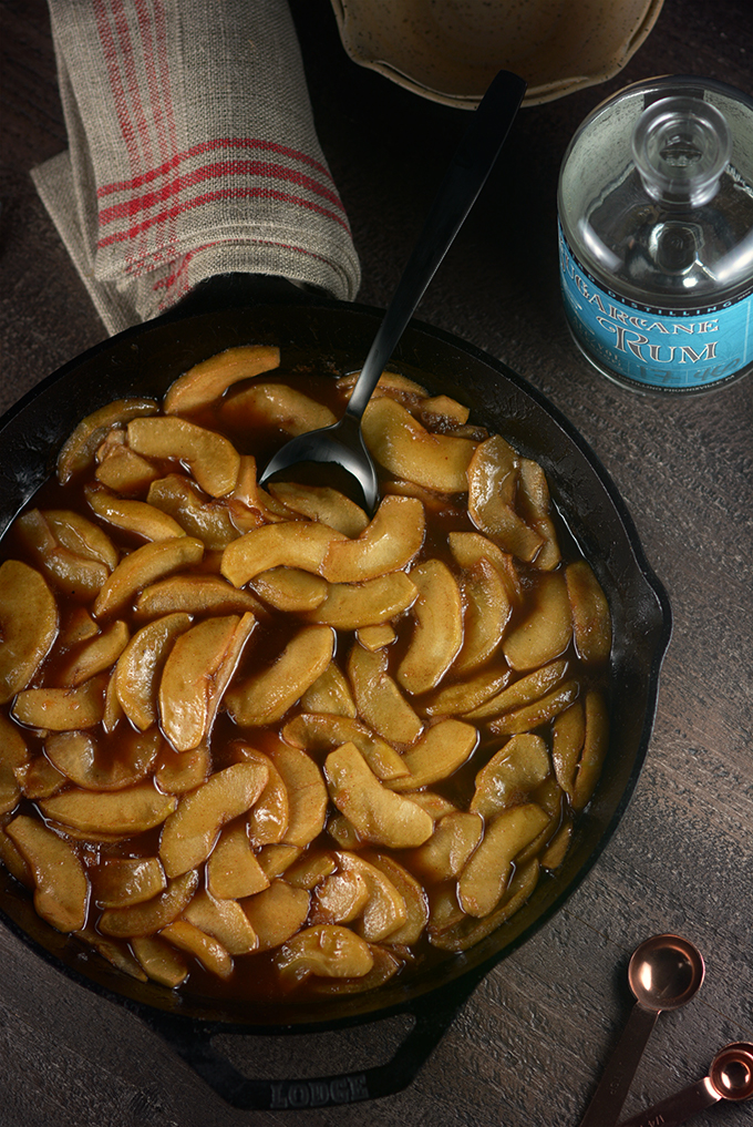 Skillet of Southern Fried Apples