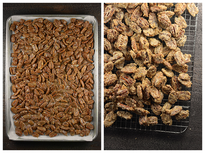 How to Make Cinnamon Sugar Candied Pecans