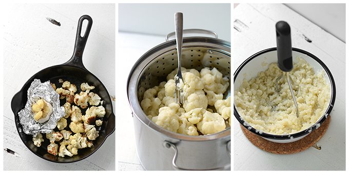 Cooking Cauliflower for Soup