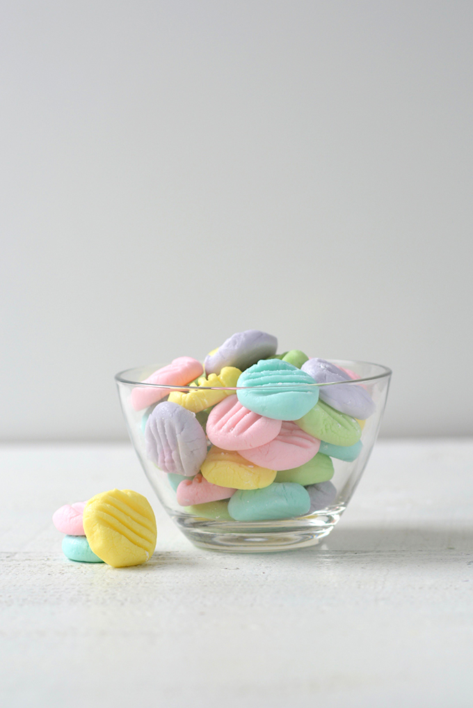 Old Fashioned Cream Cheese Mints (Wedding Mints)
